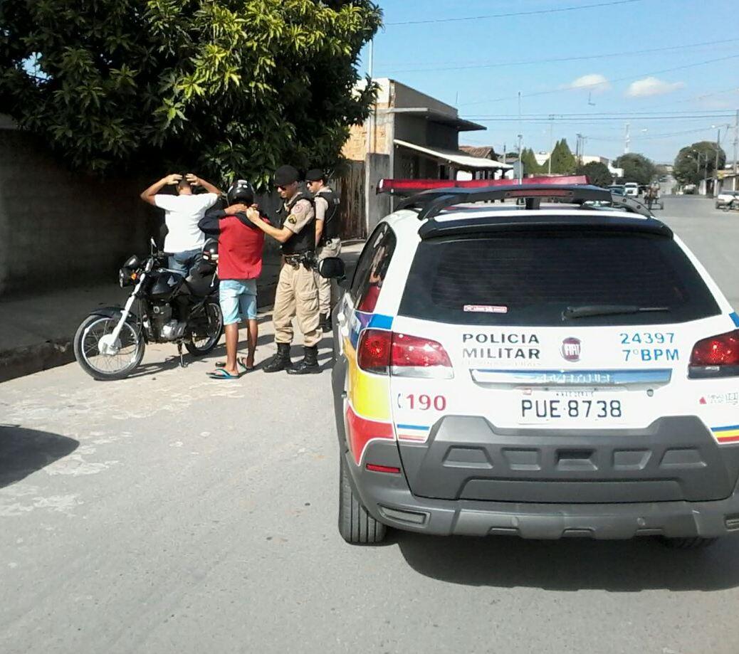 Operação policial realizada em Lagoa da Prata - foto: Polícia Militar