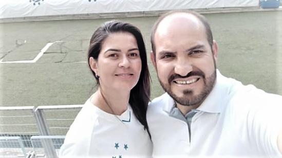 Julio e a esposa Meire - foto: instagram